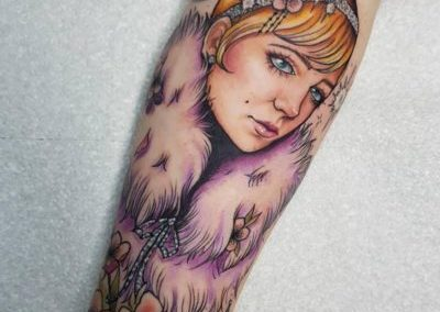 ELLIS ARCH<BR>PAINTED LADY TATTOO PARLOUR