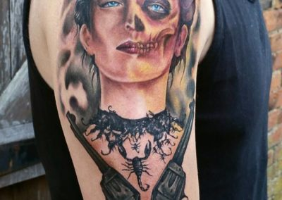 DANIEL BARREN<BR>NEVERMORE TATTOO PARLOUR