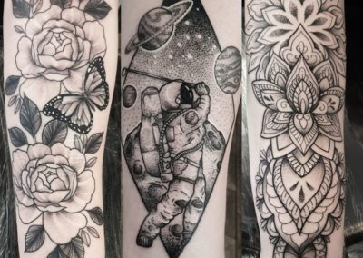 ELLIOT GILCHRIST<BR>OUTSIDER ART TATTOO STUDIO