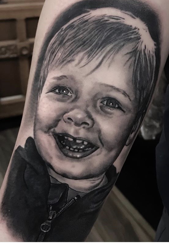 JAMES BRENNANSTAG AND BONES TATTOO