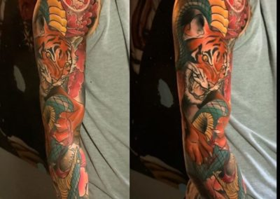 JEN MOGG<BR>SEVEN FOXES TATTOO